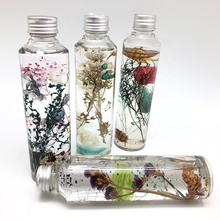 150ml Glass bottle flower herbarium pretty home decoration gift set