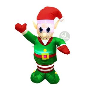 outdoor Christmas elf christmas decoration, inflatable elf, funny inflatable
