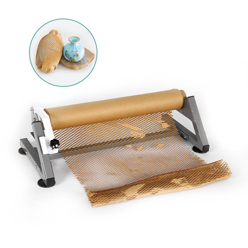 New Popular Eco Friendly Cushion Sheet Wrap Honeycomb Paper Making Machines For Gift Protection