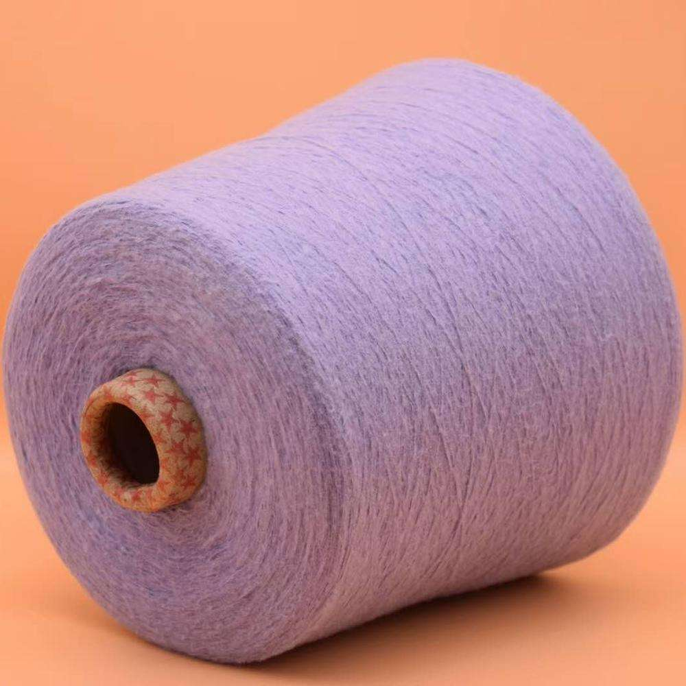 Hot Sale 100%Polyester fancy yarn spun brushed yarn Made In China
