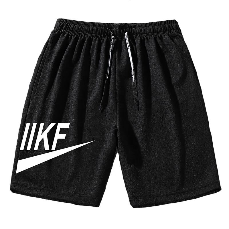 2020 summer wholesale 95% spandex custom biker sweat gym shorts for man