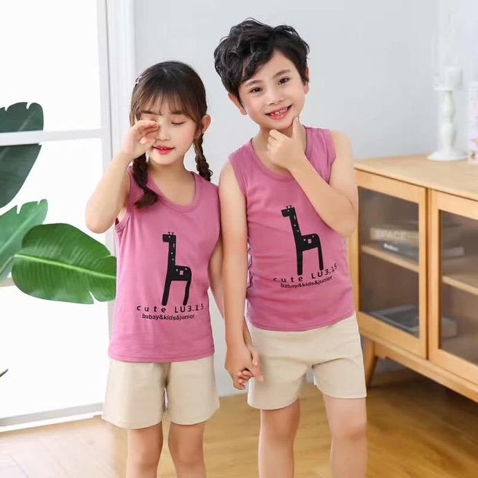 COTTON boutique kids clothing soft fabric and lovely design children sport clothes cute girls or boy clothing set