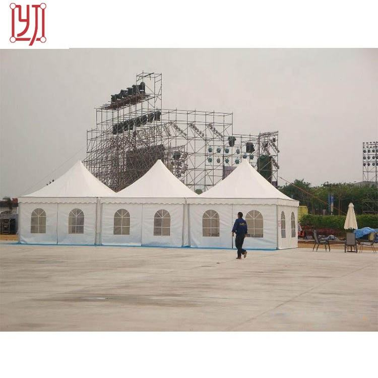 Custom color commercial pagoda safari marquee canopy tent 5 meter