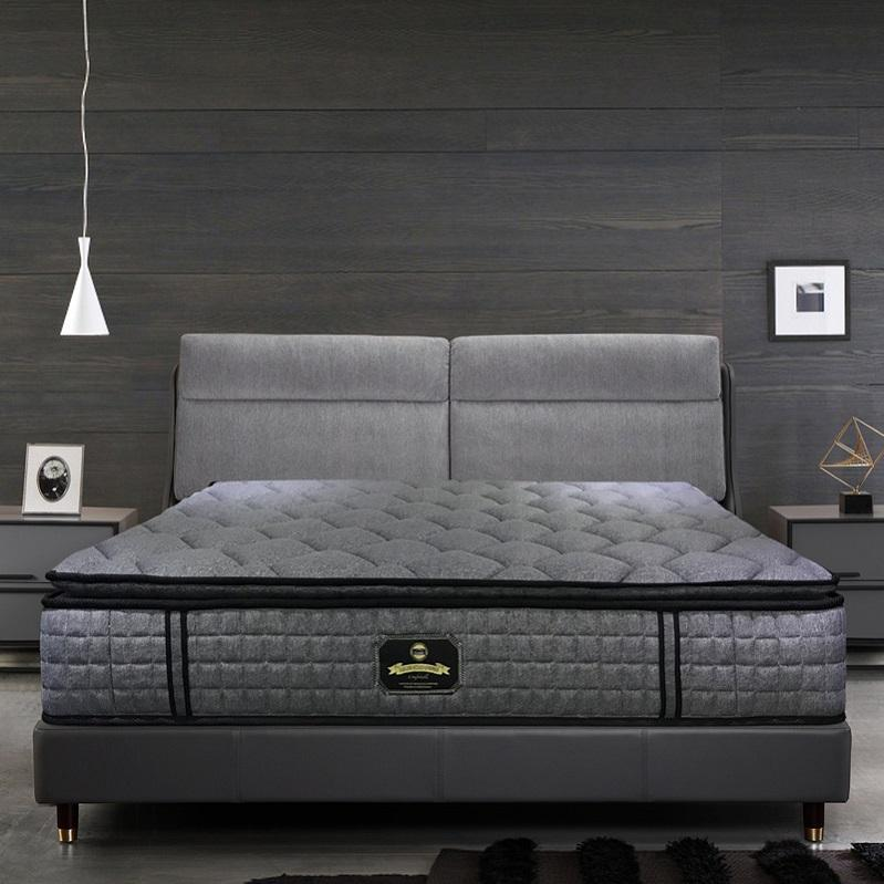 <span class=keywords><strong>Matelas</strong></span> de lit à poches <span class=keywords><strong>en</strong></span> <span class=keywords><strong>latex</strong></span>, doux, taille king, style hôtel