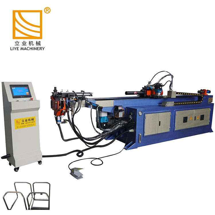 DW38CNCX3A-1S CNC pipe tube bender machine for press washer frame bending manufacturer
