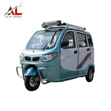 AL-BJ 2019 Powerful Low Maintenance Classic Design Battery Operated Electric Tricycles Rickshaw For Philippine Market