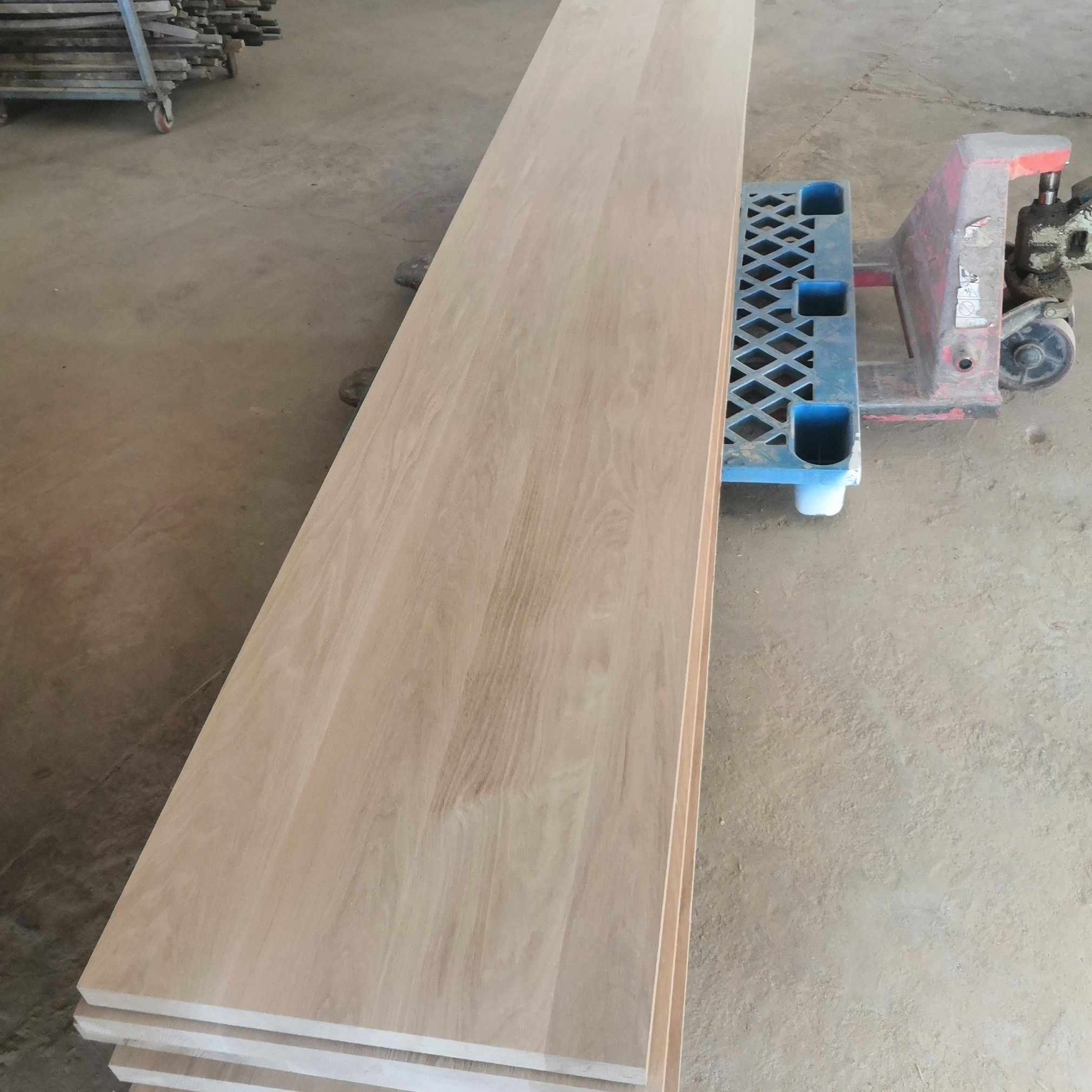 white oak solid board