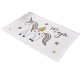 Chinese factory supply rugs and carpets custom simple bedroom living room dinning room mat cartoon unicorn printed rug