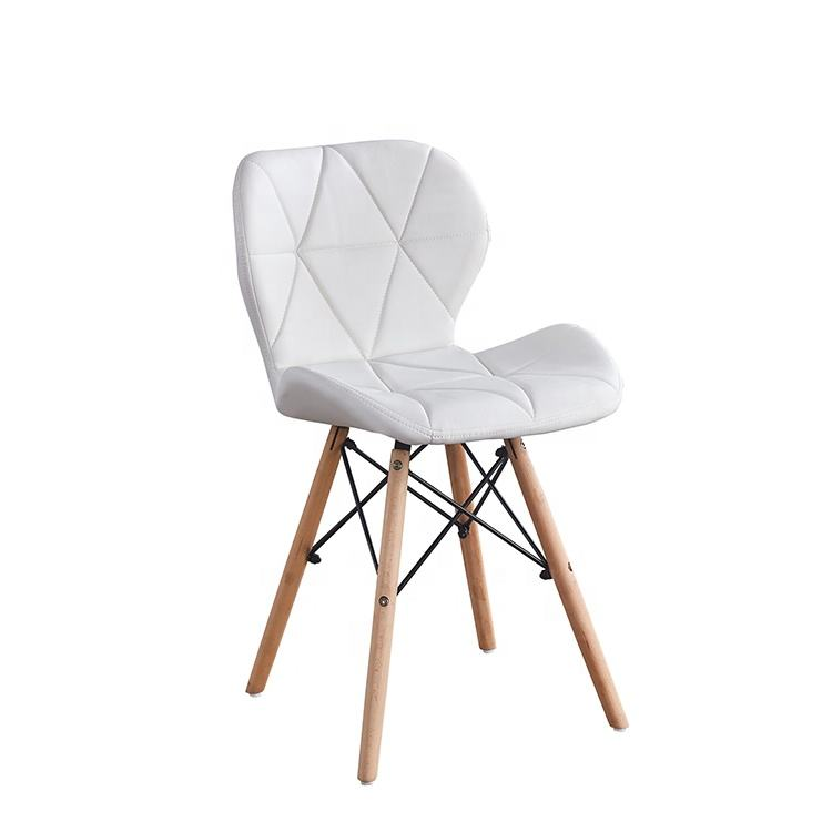 Luxury Elegant Design Modern White Dining Chair For Living Room Home Hotel