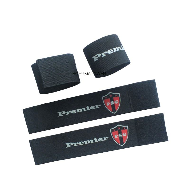 Wholesale promotional custom Shin guard Soccer Strap