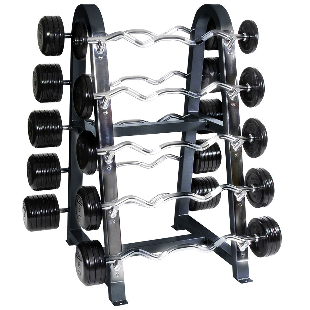 Gym Equipment Bar Storage Fitness Barbell Rack Fitness Barbell Holder