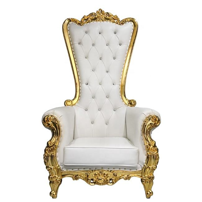 Wholesale Luxury Royal Party High Back King Throne Chair For Wedding
