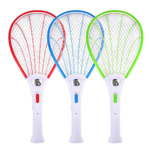 Rechargeable Electric Mosquito Swatter Insect Bug Electric Bat Pest Fly Mosquito Zapper Swatters Killer Racket
