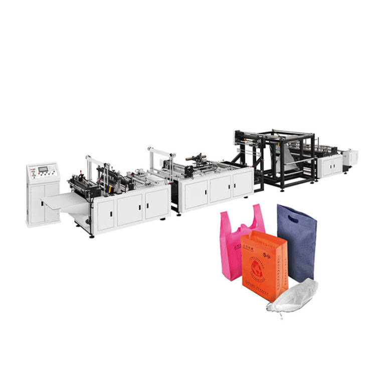 Fully Automatic Non Woven Bag Shopping Bag Making Machine