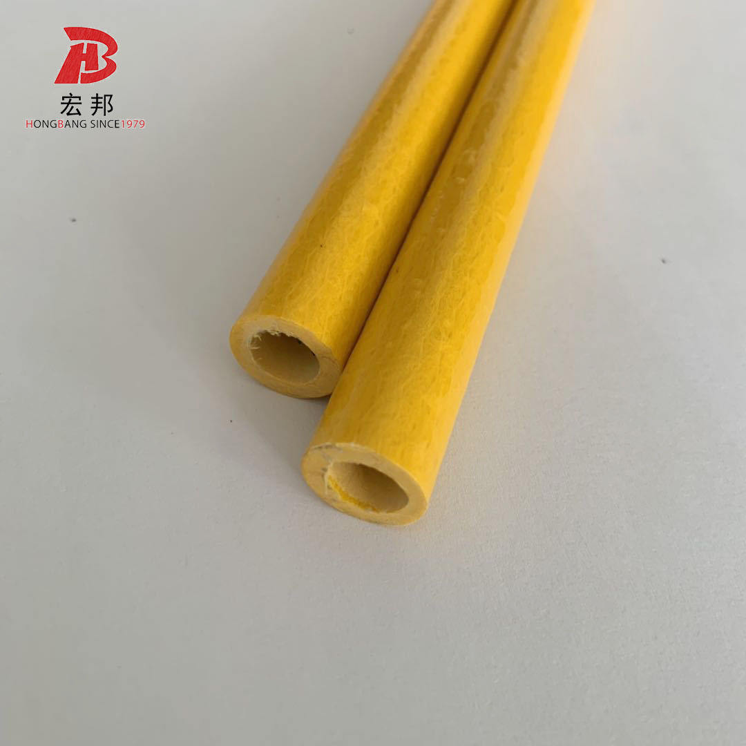 Selling Pultruded fiberglass frp hollow round tube rod with UV protection