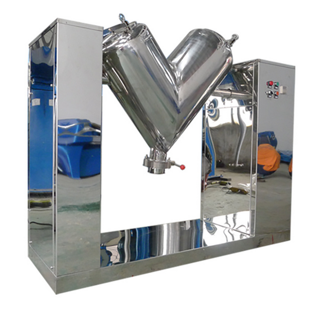 V Type Medicine Food Powder Machine Pharmaceutical Industry Mixer/Chemical mixing equipment