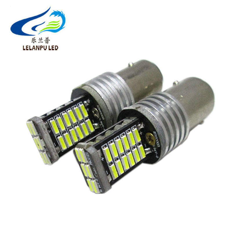 T20 7443 4014 30SMD led canbus car canbus 10w led bulb tail light for car
