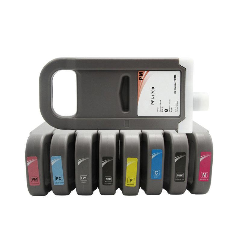 OCBESETJET 700ML Canon PFI 1700 uyumlu mürekkep Canon için kartuş Pro2100/4100/6100 2100 4100 6100 2000 4000 6000 yazıcı