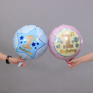 Wholesale custom happy birthday flower shaped party foil helium balloon supplies