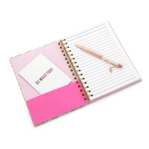 Flamingo Girls Pocket Diary Notebook Wholesale Custom Printing Hardcover Paper A5 Spiral Journals Notebooks for Women