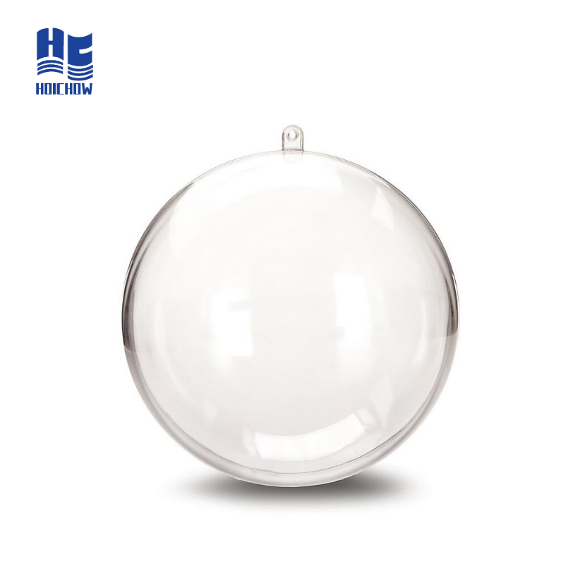 Clear Plastic Ornament Ball Christmas Decoration
