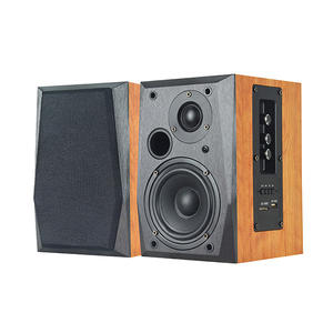 Holz super bass USB SD MMC karte drahtlose 2ch stereo audio sound Hallo-fi hifi bücherregal lautsprecher