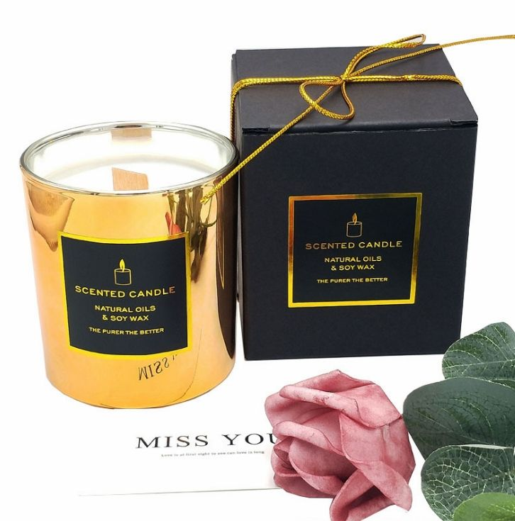 Private Label Natural Soy Wax Strong Scent Luxury Scented Candles Aromatherapy Scented Candles Gift Box
