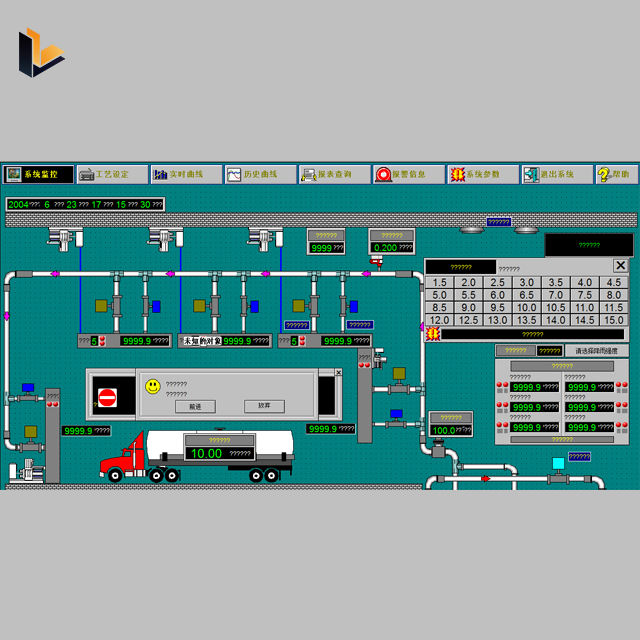 Hmi Scada Software Systeem