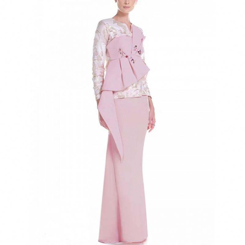 New Arrival In Stock Baju Kurung Dress Abaya Jilbab Woman Islamic Clothes Jubah Muslimah Modern Muslim Clothing Women