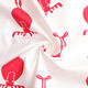 Pure Cotton Red Christmas Elk Wapiti Animal Printed White 100% Pure Cotton Twill Fabrics For Patchwork Sewing