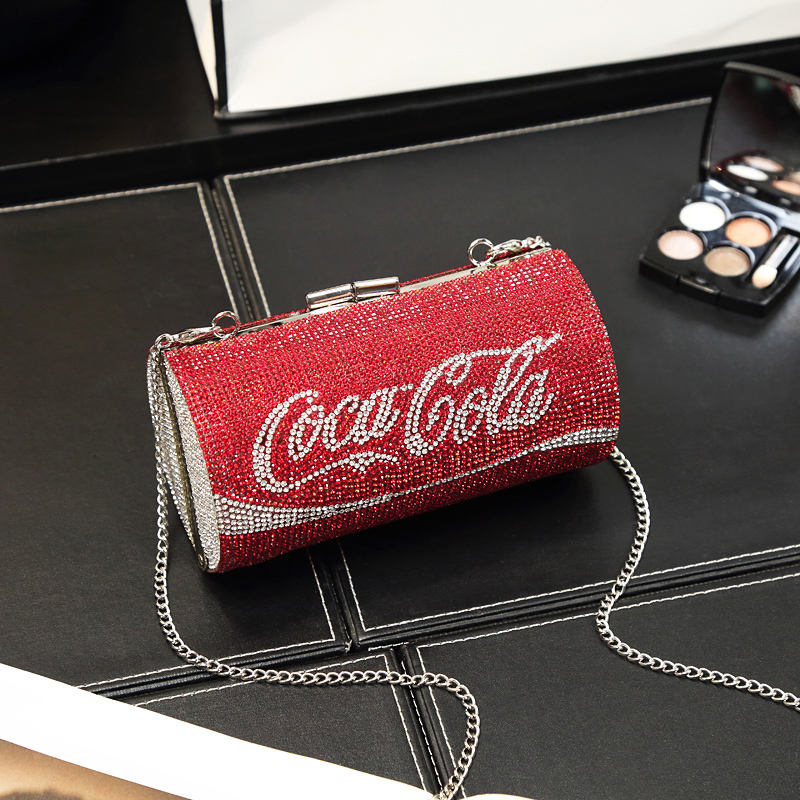 new fashion bling diamond clutch ladies evening bags shoulder bags