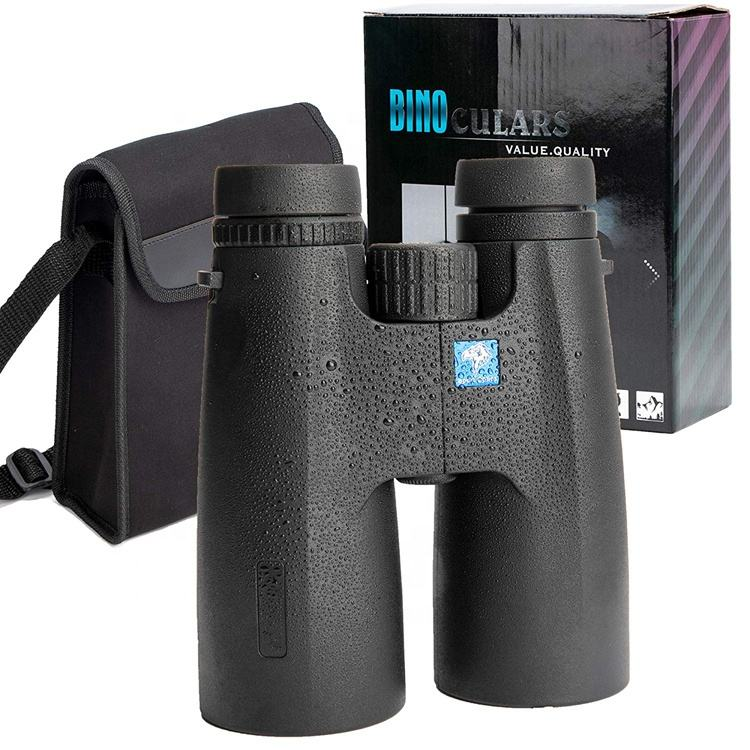 Military Binocular, 12x50 High Power IPX7 Waterproof HD Roof Prism Binoculars Telescope for Bird watching