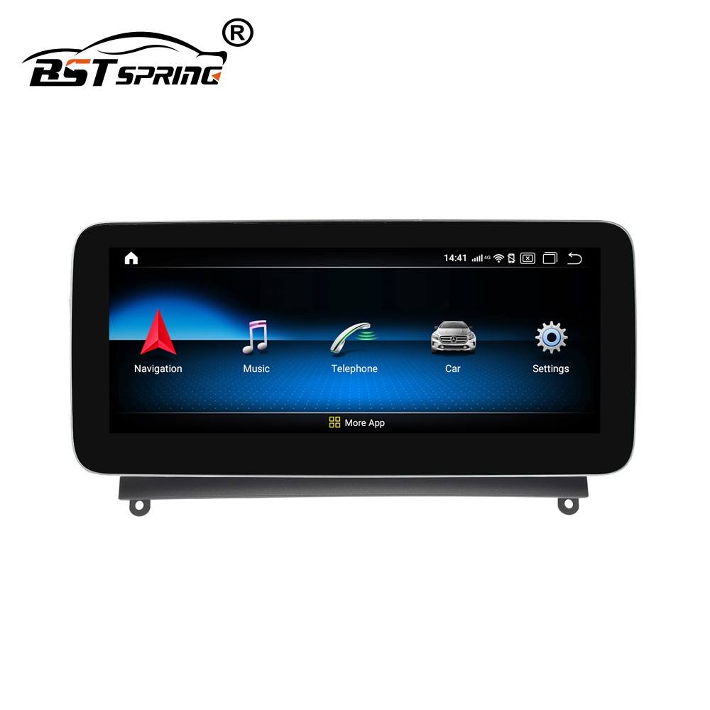 Bosstar 10.25 inch Android Car Stereo Audio System for Benz C-Class 2008-2010 W204 Car GPS Navigation System Head unit Placement