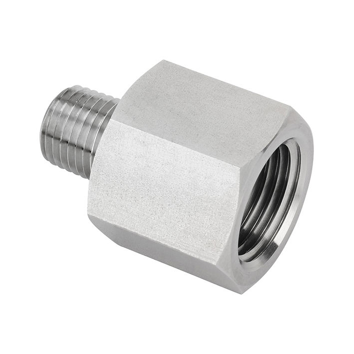 Female adapter pipe fitting SS female x male reducer male adapter