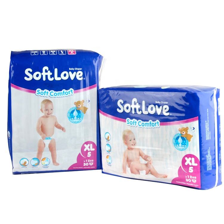 Softlove XL 30'S hot selling choice sleepy disposable baby diaper