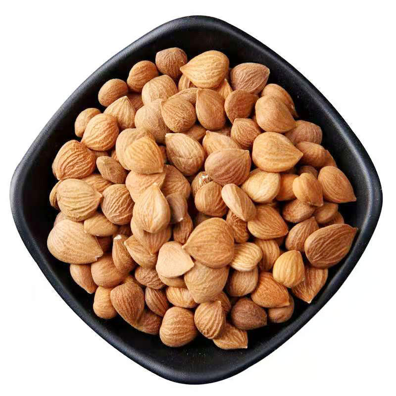 Raw Dried Hulled Almonds Nuts Organic Almond Kernel Sweet Bitter Top grade for wholesale Chinese Almonds without shell spices