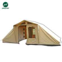 Two bedrooms and a living room tent camping family tent for fulltime camper