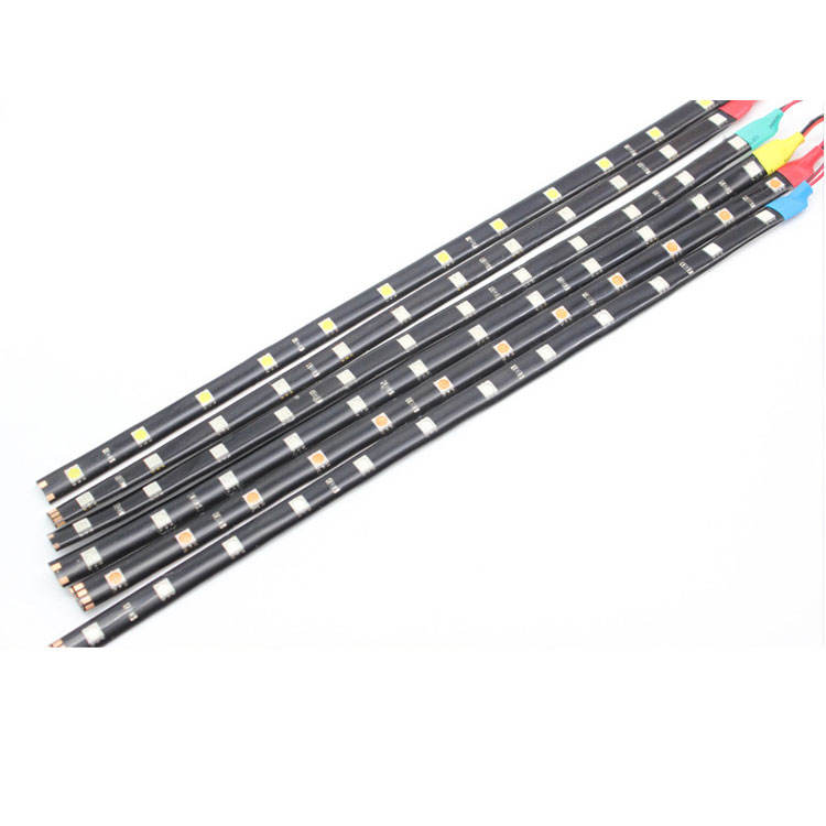 30Cm 60Cm 5050 Smd Flexibele 12Leds 12V Licht Strips Motor Led Strip <span class=keywords><strong>Underbody</strong></span> Verlichting Voor Auto motorfiets