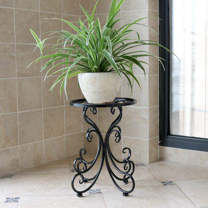 Garden Wrought Metal Iron Flower Pot Stand Home Decoration Plant Wire Wedding Display Rack Holder