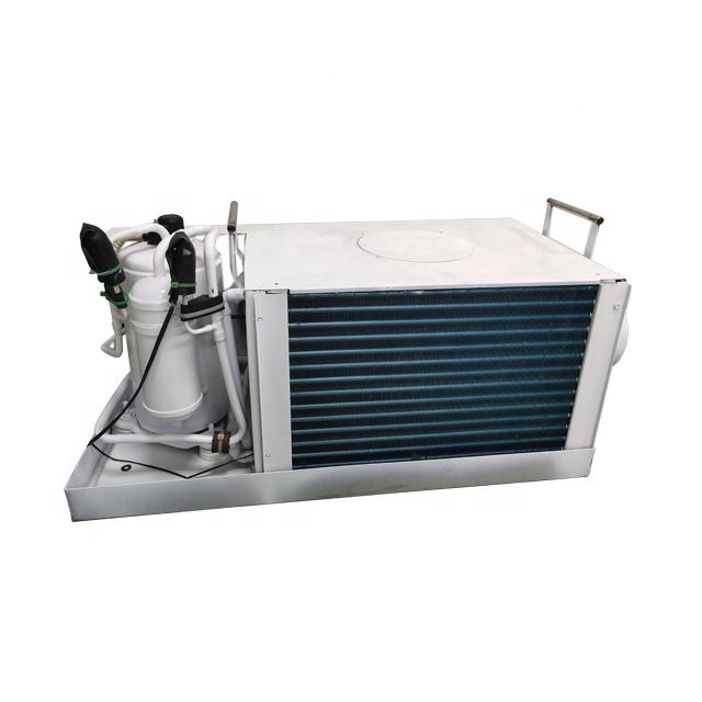 Puremind Air Pendingin Air Laut AC Unit R410A 24V Mandiri Perahu Yatct AC Air Conditioner