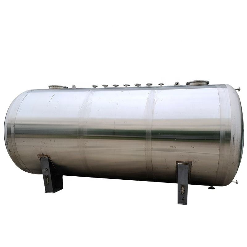 25000 liter Stainless steel underground kerosene methanol storage tank heating oil fuel tank price