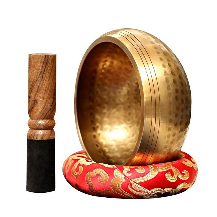 Excellent Resonance Healing Meditation Yoga Singing Bowls With Mallet
