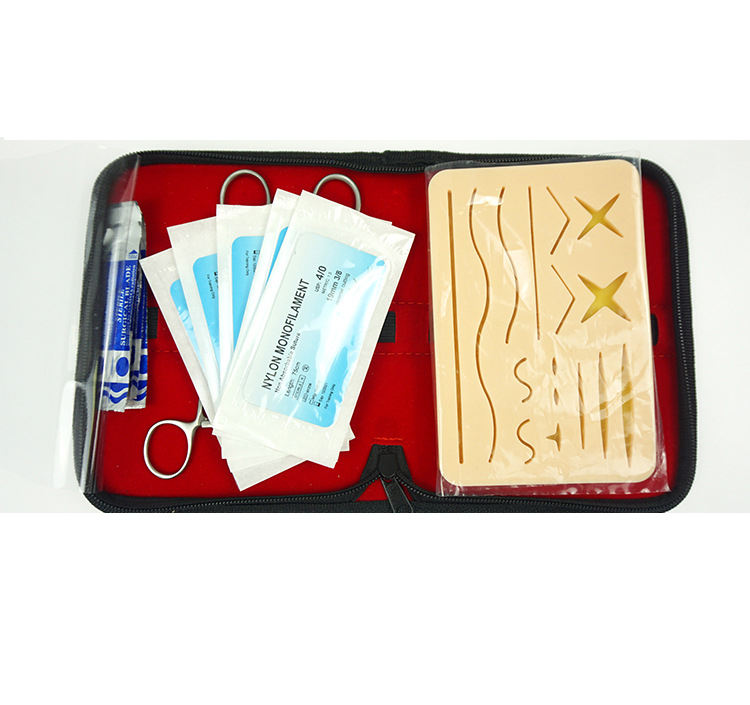 Multiple wounds medical training practice surgical skin suture surgery practice kit