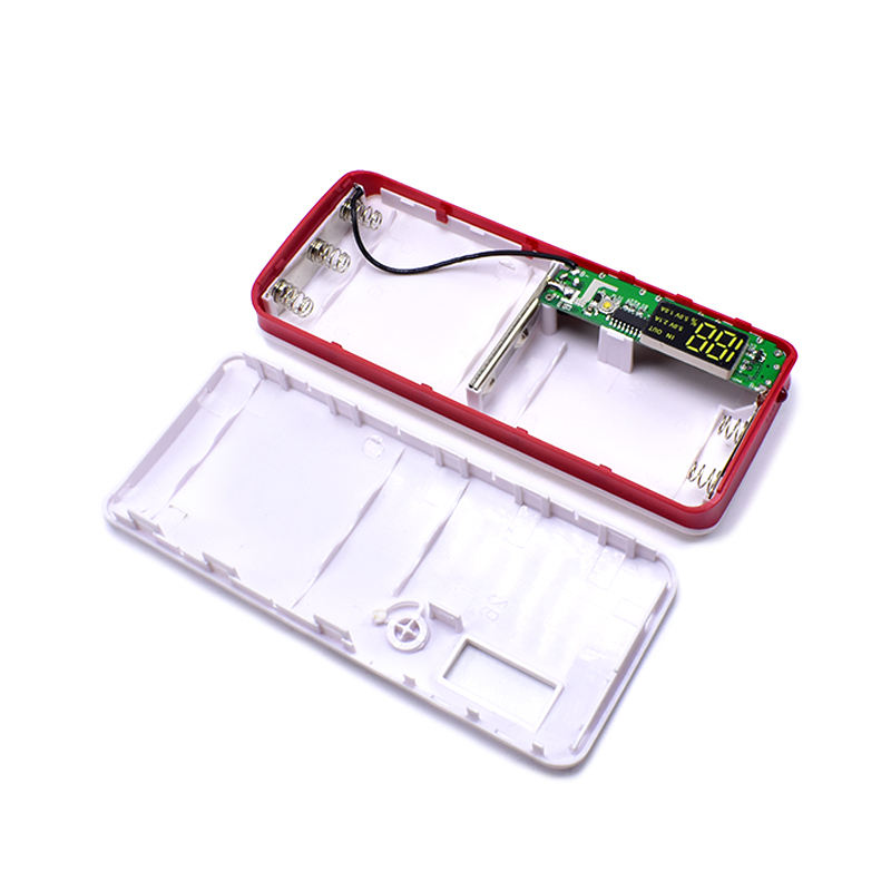 New Arrival 3 USB Ports 5V 2A 5x18650 Power Bank Battery Box Charger Case DIY Box