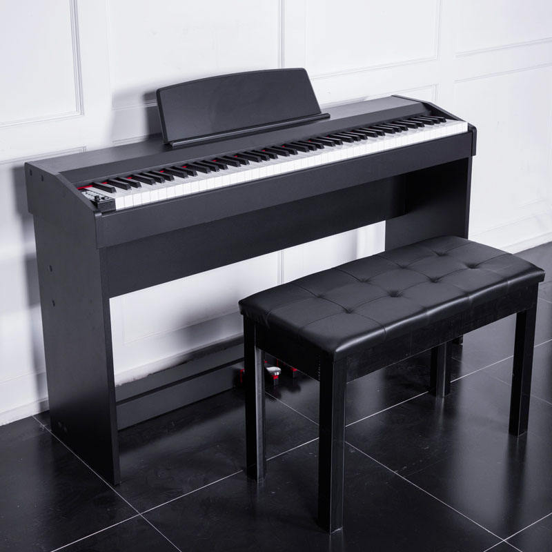 piano keyboard 88 keys best electric piano with bluetooth