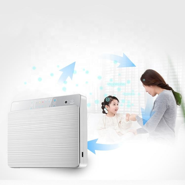 Wall mounted large room buy uv-c replacement filter home use portable uv ozone air purifier