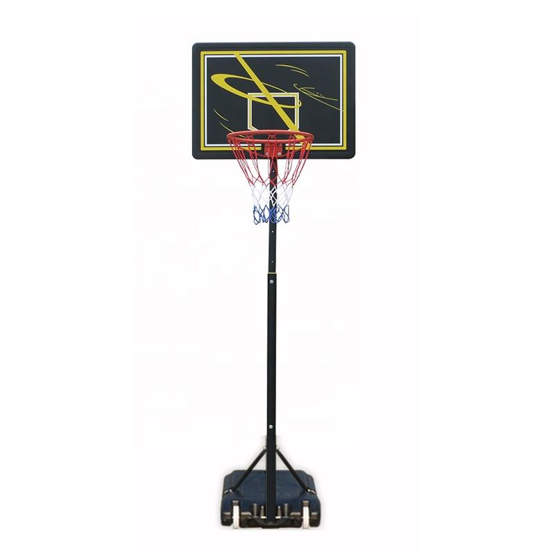 Portable Indoor Basket Sistem Set dengan Profesional Ring Basket
