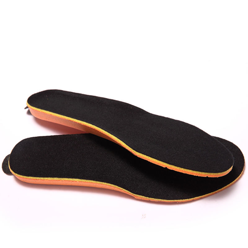 High Quality Comfortable Anti-slip Heat Insole For Shoes Warm Snow Boot Insole Rechargeable Heated Insoles