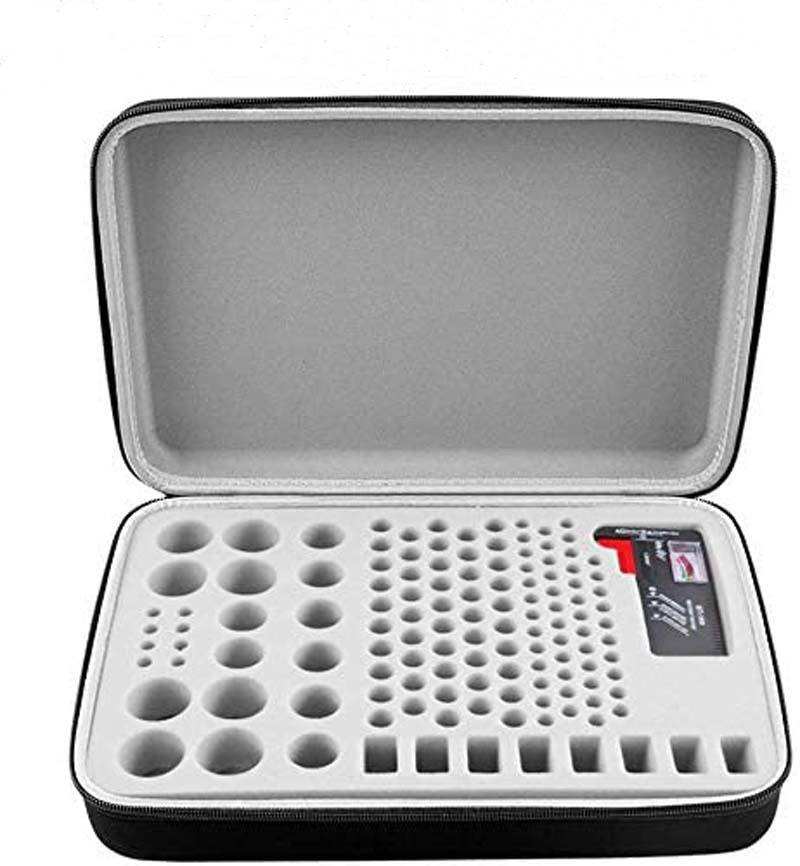 High Quality China Factory Battery organizer storage case for 140 batteries with BT168 battery tester custom eva hard bag