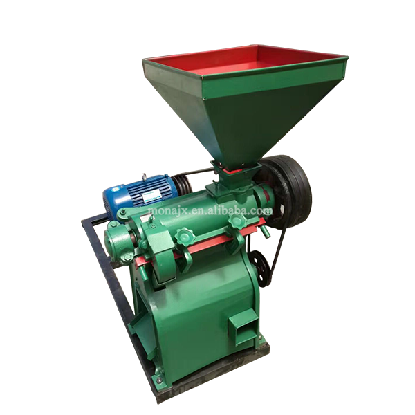 Small White Corn Flour And Grits Machine | Corn Peeling And Grinding Machine Price